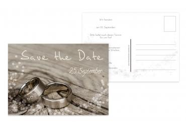 Save-the-Date Eheringe 148x105mm 5000092613