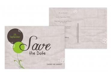 Save-the-Date Fantasyflower 148x105mm 5000092931