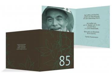 einladungskarten zum 85. geburtstag | karten-paradies.de, Einladung