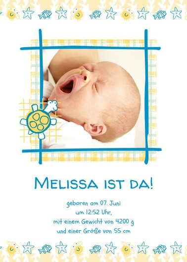 Ansicht 2 - Babykarte Smart
