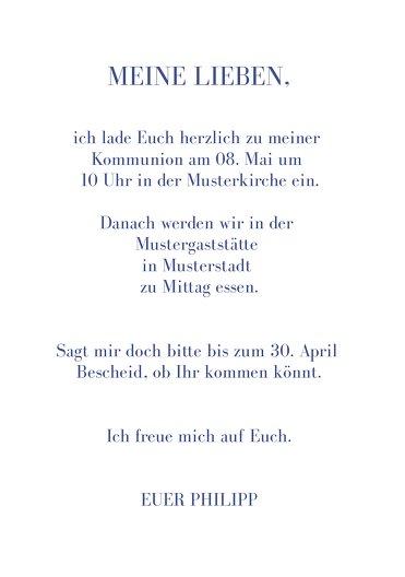Ansicht 5 - Kommunion Einladung Himmelreich