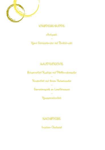 Ansicht 5 - Menükarte zur Konfirmation Kirche