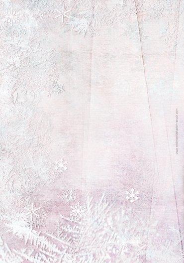 Ansicht 2 - Menükarte Schneehütte
