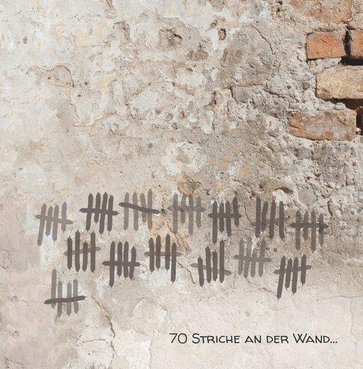 Ansicht 3 - Einladung Striche an der Wand 70