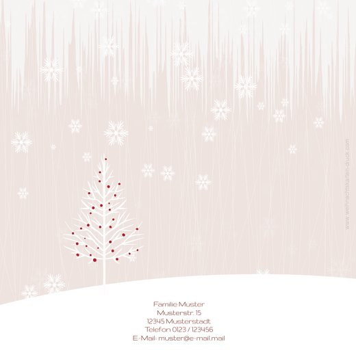Ansicht 2 - Foto Einladung Weihnachtsmann