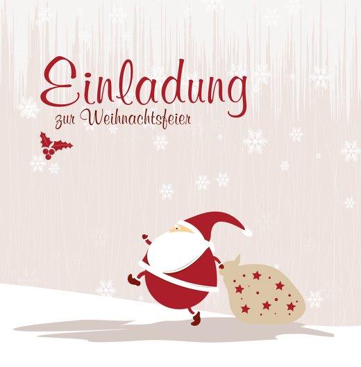 Ansicht 3 - Foto Einladung Weihnachtsmann