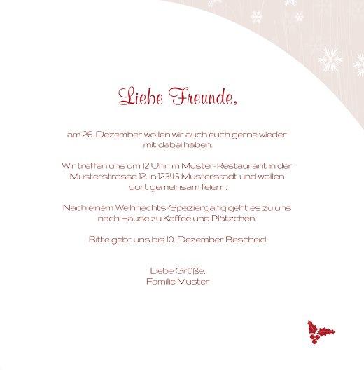 Ansicht 5 - Foto Einladung Weihnachtsmann
