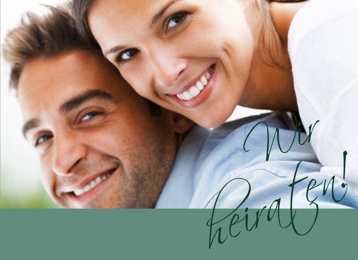 Ansicht 3 - Hochzeit Einladung Liebesbotschaft