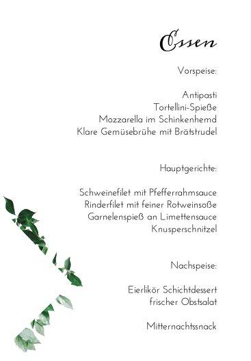 Ansicht 5 - Kommunion Menükarten Täubchen