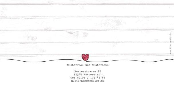 Ansicht 2 - Hochzeit Dankeskarte Mr&Mrs