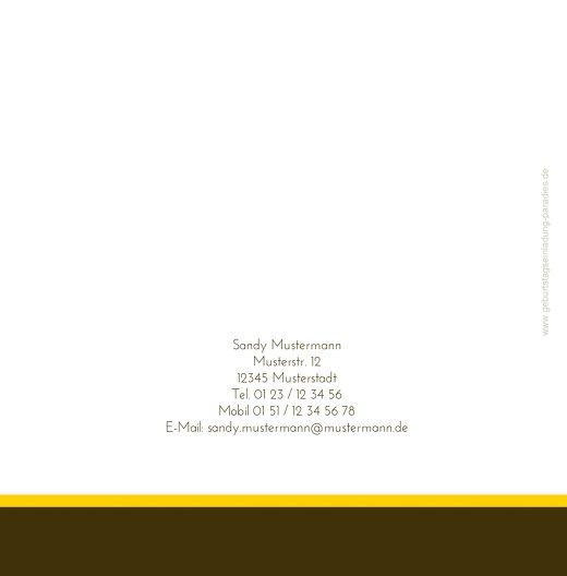 Ansicht 2 - Einladungskarten abstract flower Foto