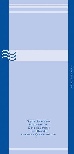 Ansicht 2 - Taufkarte Lebenswasser