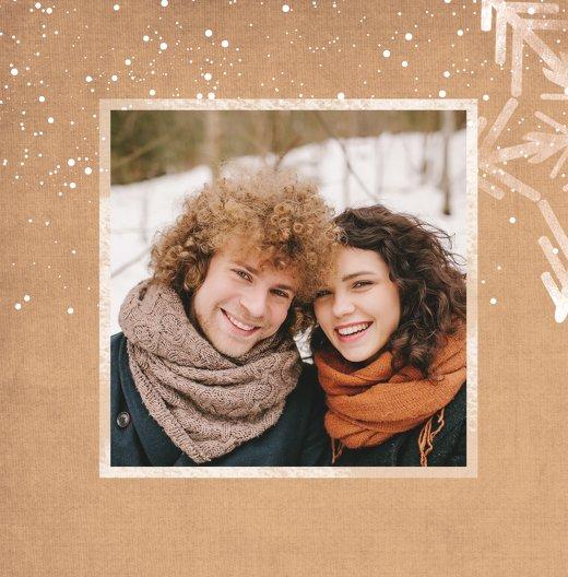 Ansicht 4 - Foto Grußkarte Wintertraum