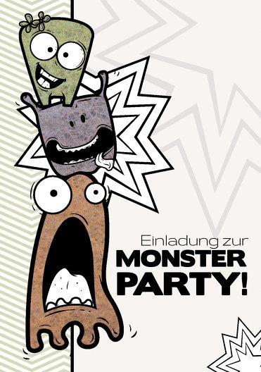Ansicht 3 - Einladung Monsterturm