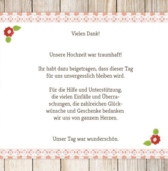 Ansicht 5 - Hochzeit Dankeskarte München