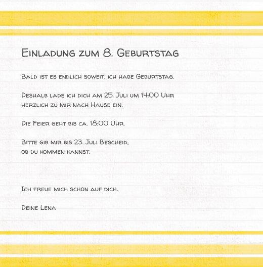 Ansicht 5 - Geburtstag Buchstabensalat Foto