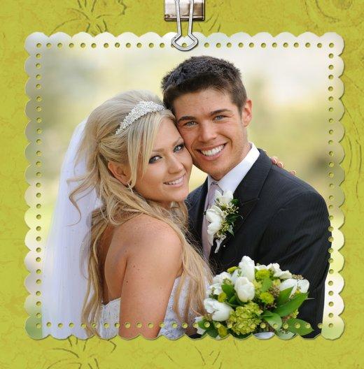 Ansicht 4 - Hochzeit Dankeskarte Liebesnachricht