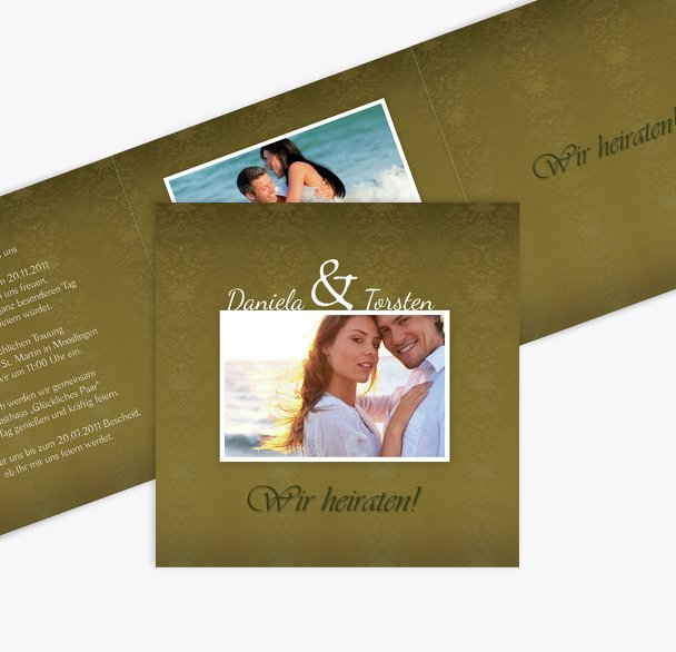 Hochzeit Einladung Eheversprechen