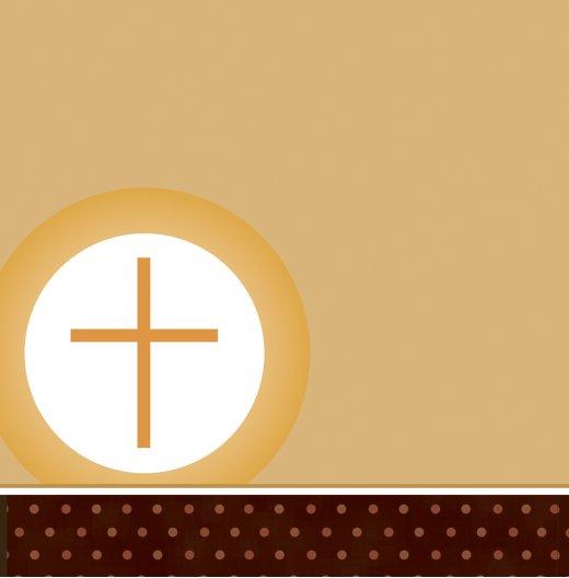 Ansicht 2 - Kommunion Danke Kreuzhostie