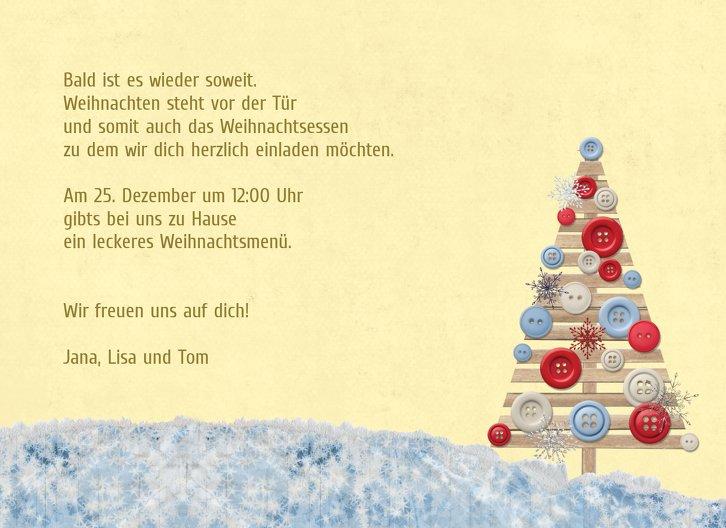 Ansicht 5 - Foto Einladung Schlittenfahrt