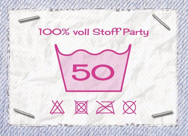 Ansicht 3 - Einladungskarte Waschzettel 50