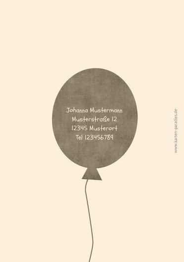 Ansicht 2 - Einladung Foto Airballoons