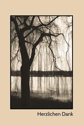Ansicht 3 - Dankeskarte Baum
