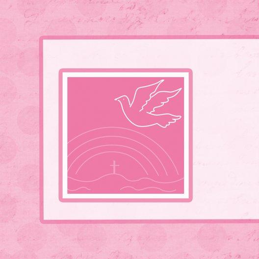 Ansicht 4 - Taufkarte Bubblehearts