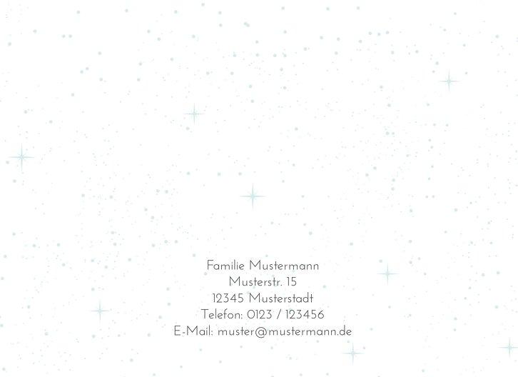Ansicht 2 - Einladung Sternenglanz