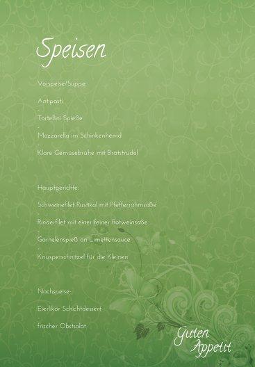 Ansicht 5 - Hochzeit Menükarte Liebeswunder