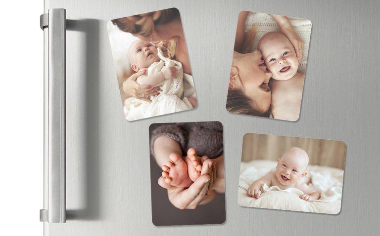 Baby-Magnete mit Bildern