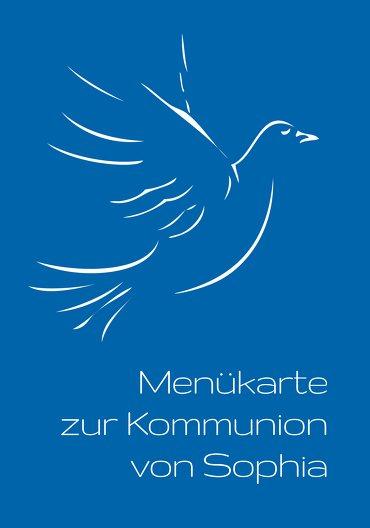 Ansicht 3 - Menükarte Kommunion Pigeon