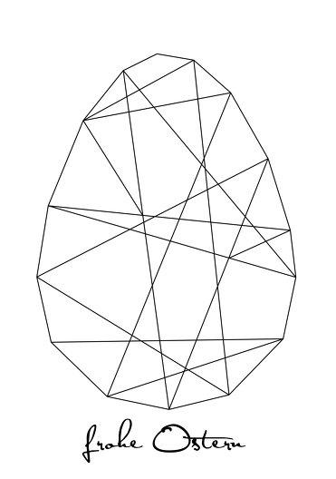 Ansicht 3 - Osterkarte Geoei