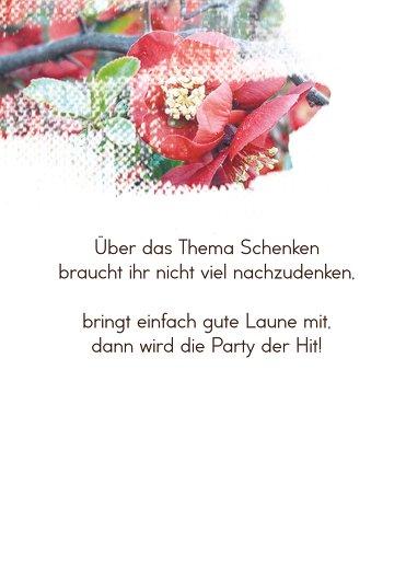Ansicht 4 - Geburtstagskarten Blüten