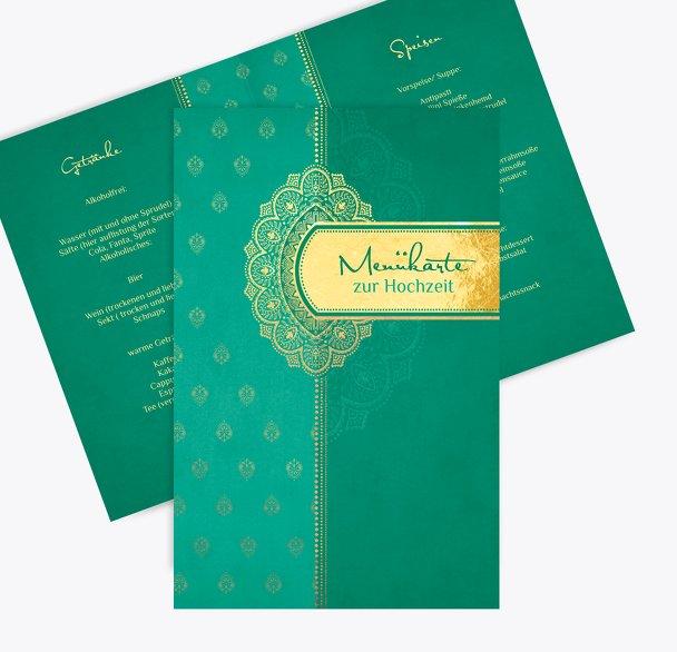 Hochzeit Menükarte Mumbai