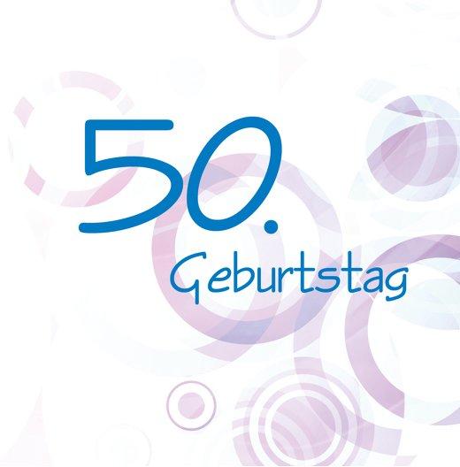 Ansicht 2 - Einladungskarte colorful circles 50 Foto