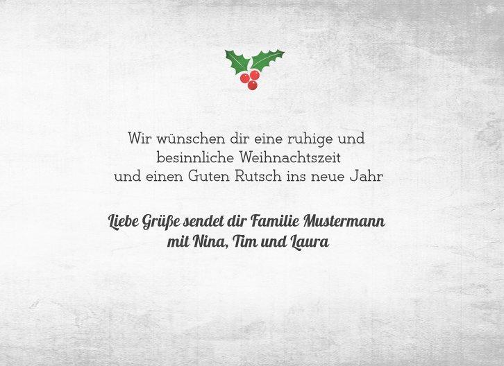 Ansicht 5 - Grußkarte Merry Christmas