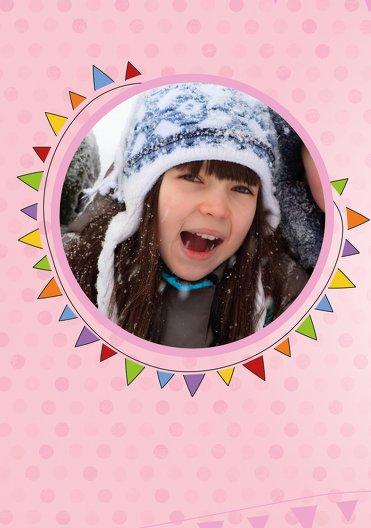 Ansicht 4 - Einladungskarte zum Kindergeburtstag Foto Lampion