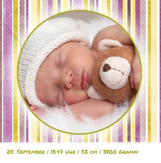 Ansicht 5 - Baby Dankeskarte Krone