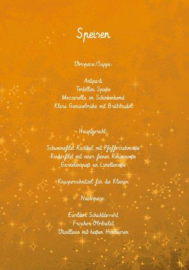 Ansicht 5 - Menükarte Advent