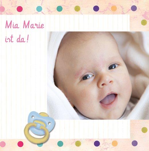 Ansicht 3 - Babykarte Smarties