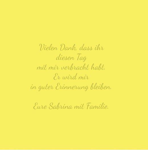 Ansicht 7 - Kommunion Dankeskarte Vogel