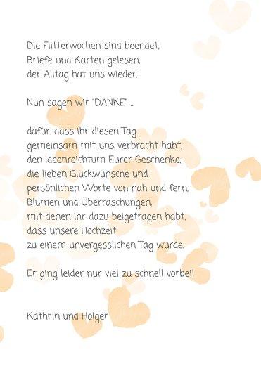 Ansicht 5 - Hochzeit Dankeskarte Liebesglück