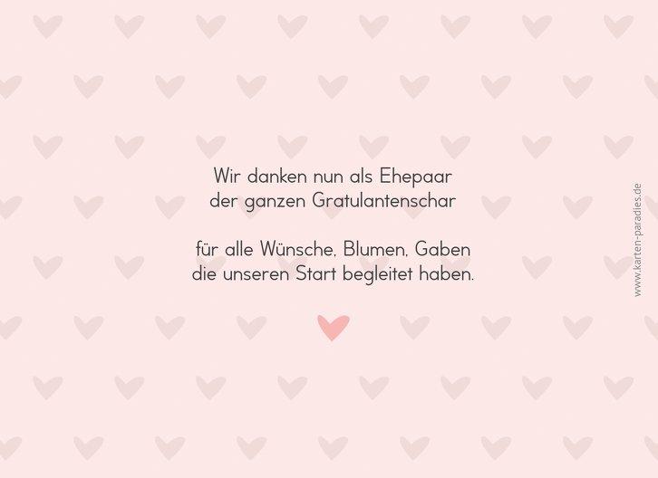 Ansicht 2 - Hochzeit Dankeskarte Pärchen - Frauen