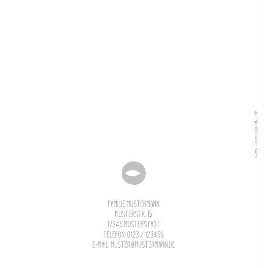 Ansicht 2 - Konfirmation Einladung Blumenfisch