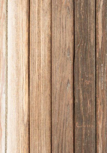 Ansicht 2 - Hochzeit Dankeskarte Vintage Holz