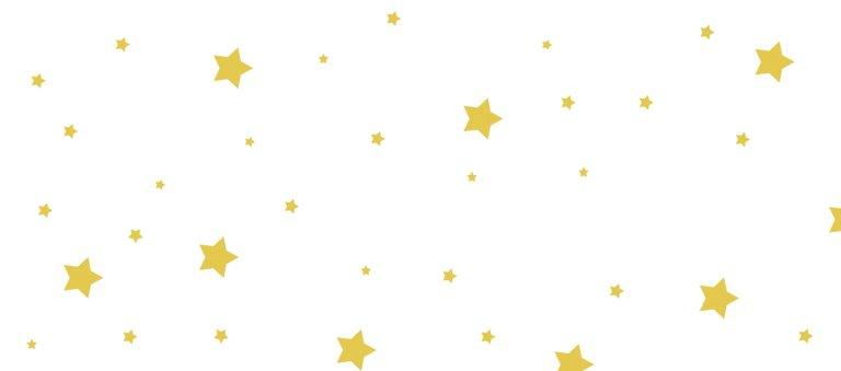 Ansicht 3 - Tischkarte Sterne