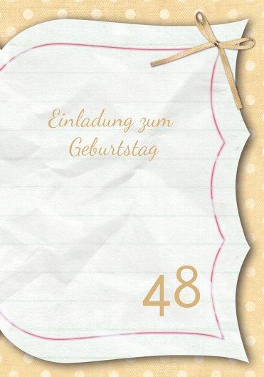 Ansicht 3 - Geburtstagskarte Gedichtebuch