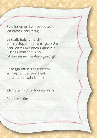 Ansicht 5 - Geburtstagskarte Gedichtebuch