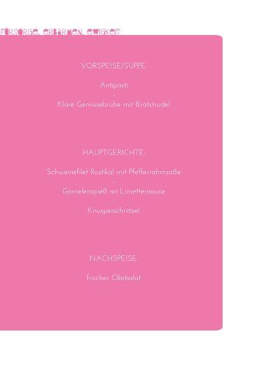 Ansicht 5 - Konfirmation Menükarte Spruchkreis